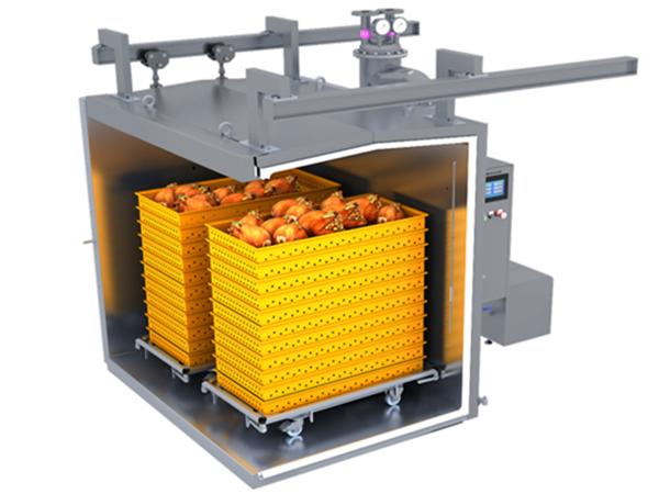 快餐无菌快速预冷机食品行业的应用