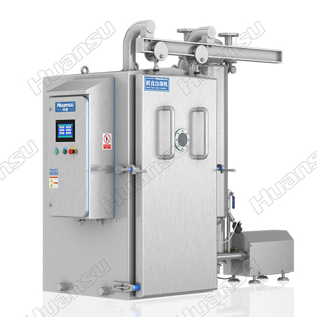 卤鸭加工鲜食快速冷却机,节能低耗提高效率