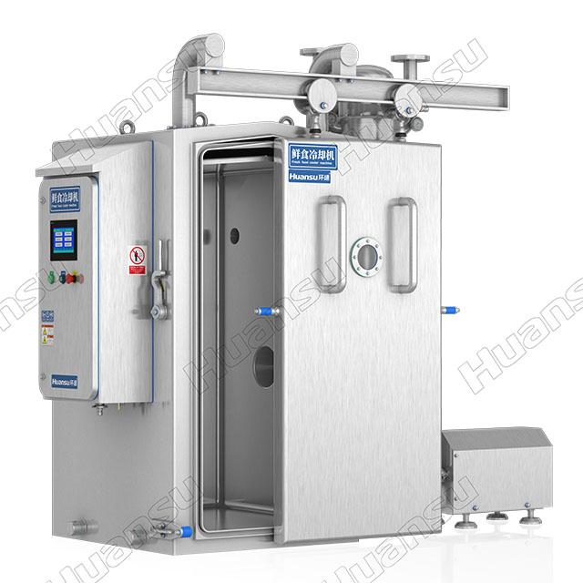 环速鲜食冷却机,新型设备亮相展会