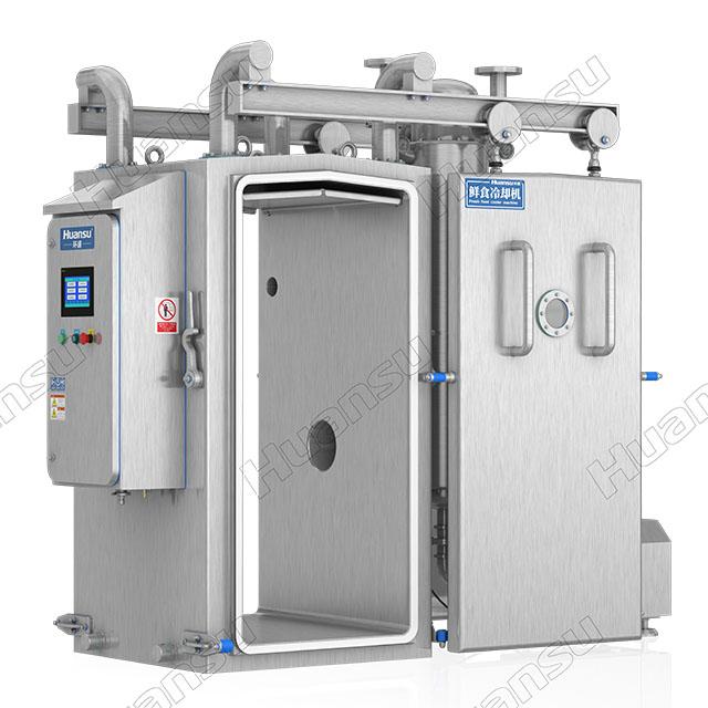 净菜真空预冷机工作原理,匠心制造、欧盟标准