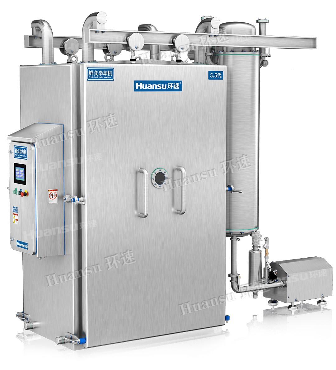 烘焙食品真空冷却机,快速降温冷却,时间短效率高