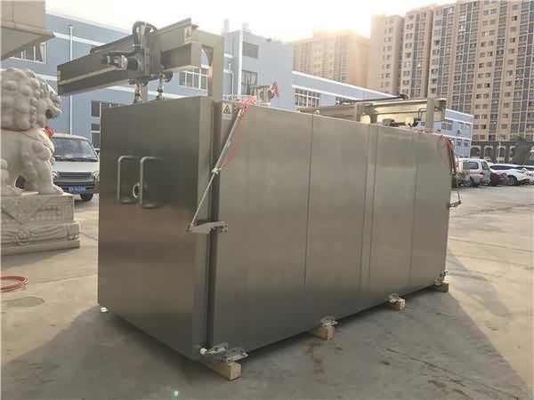 真空预冷机,可将热食快速降到低温
