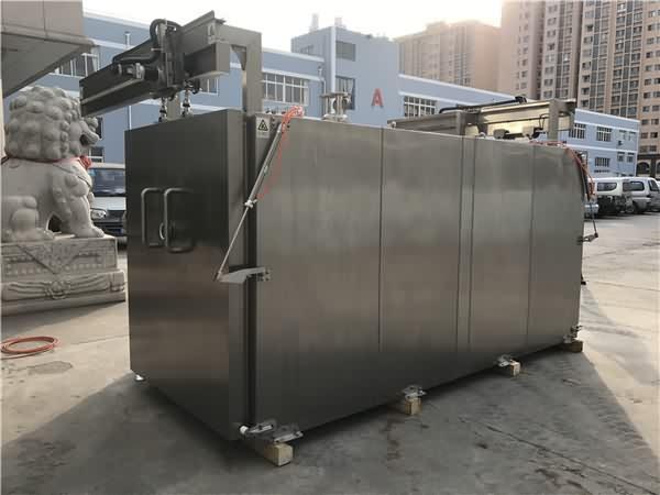 真空预冷机,全身采用无缝焊接技术,工艺