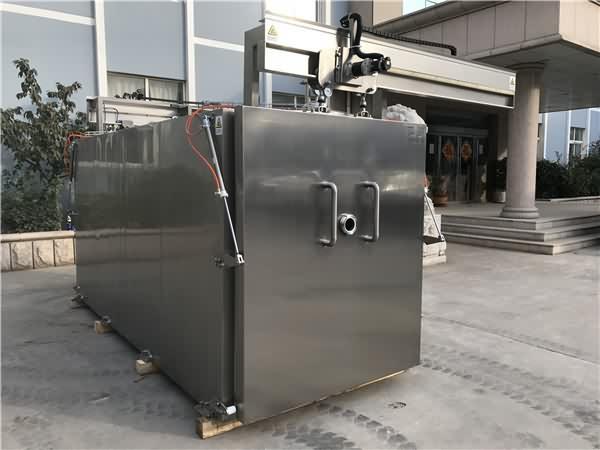 预冷机抽真空,快速将物料降温