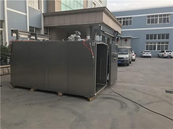 真空预冷机采用智能控制装置