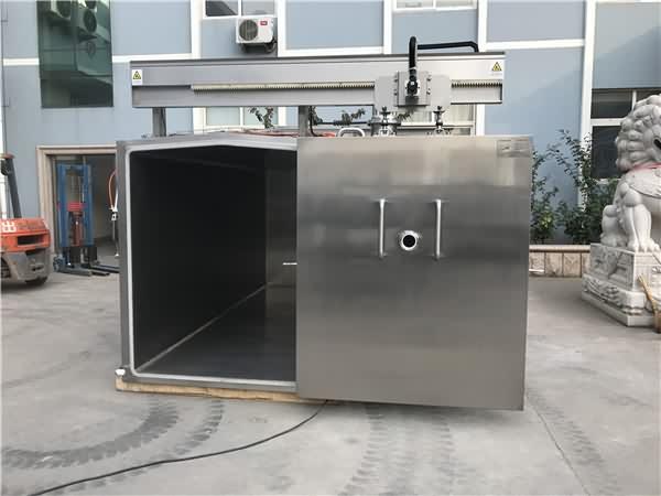 真空预冷机自动开门装置
