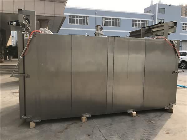 真空预冷机主要外形结构