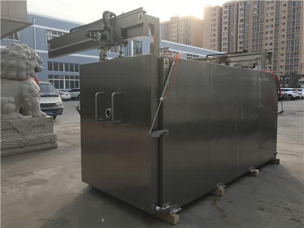 真空预冷机可适用于预冷新鲜食用菌、鲜切花、生鲜肉、米饭、蒸制品、熟食品等