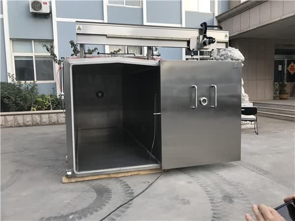真空预冷机运行费用低:只有传统冷库的13
