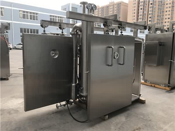 真空预冷机外形介绍,智能控制箱,熟食真空预冷机