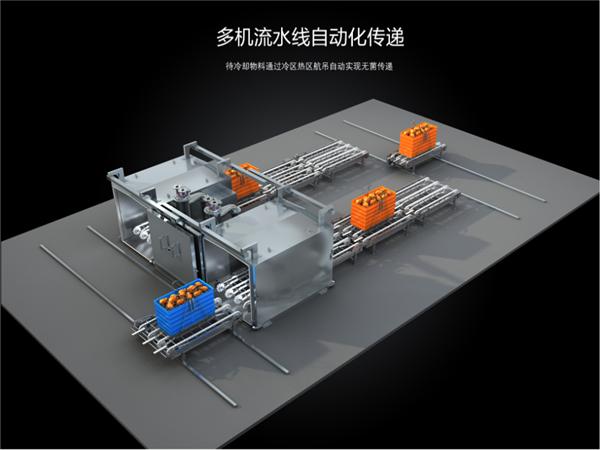 快餐冷却机ZKL-300,寿命长,速度快