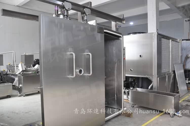 清真肉食冷却机,节省能源70%,IP65等级,安全
