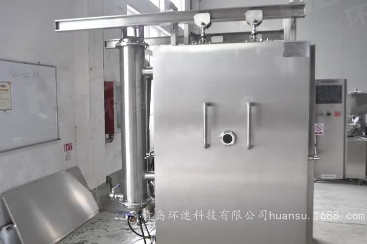卤肉食品预冷机,产品10~15分钟完成预冷,效率高,安全系数大