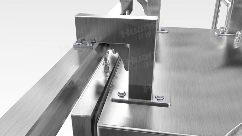 调理食品冷却机,产品10~15分钟完成预冷,效率高,安全系数大