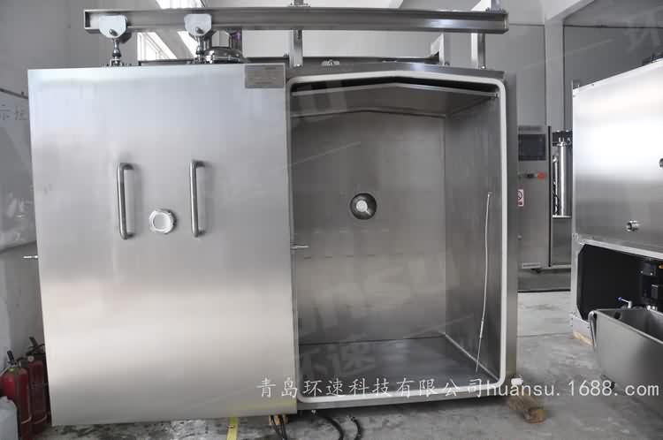 快餐真空冷却机,产品10~15分钟完成预冷,效率高,安全系数大