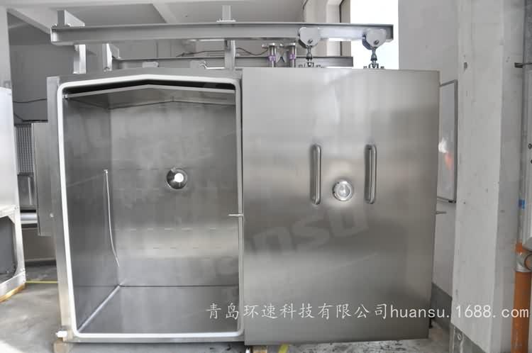 熟食冷却机,产品10~15分钟完成预冷,效率高,安全系数大