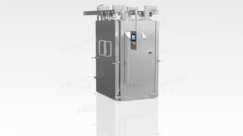 腊肉预冷机,产品10~15分钟完成预冷,效率高,安全系数大