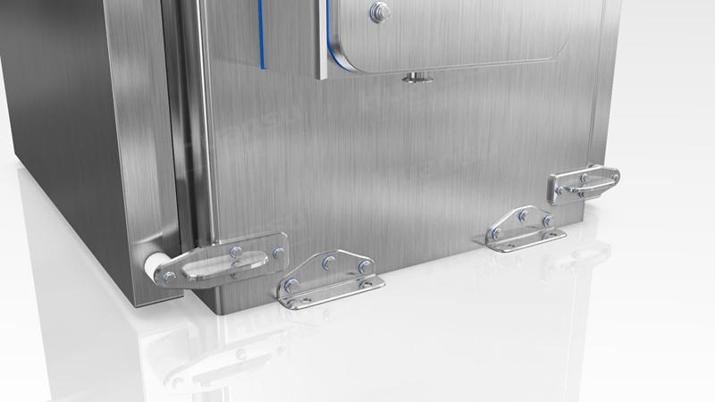 面食无菌冷却机,产品10~15分钟完成预冷,效率高,安全系数大