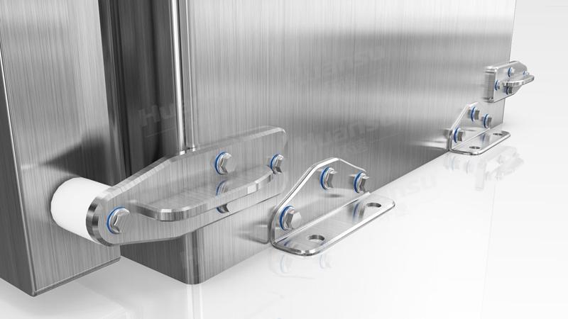 肉食卫生冷却机,产品10~15分钟完成预冷,效率高,安全系数大