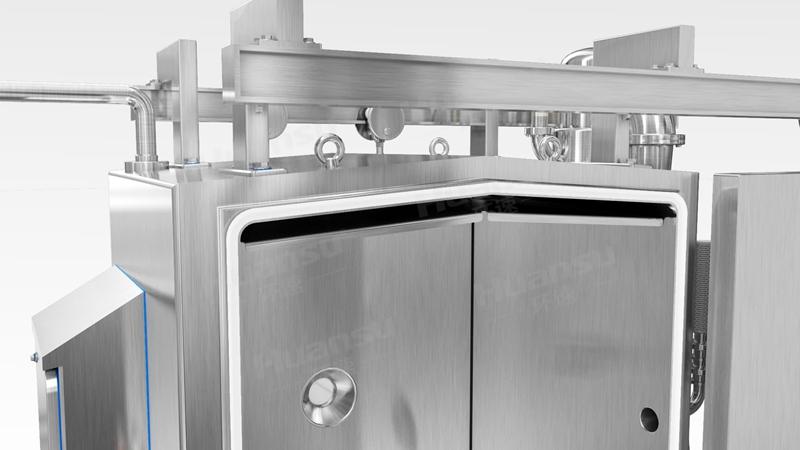 熟食快速预冷机,产品10~15分钟完成预冷,效率高,安全系数大